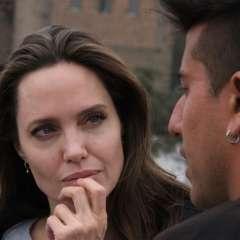 Angelina Jolie visita Perú para reunirse con refugiados venezolanos. Foto: AFP