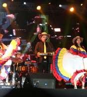 Quintonía Quito contó con la presentación de 17 artistas nacionales y extranjeros. Foto: Twitter  @MauricioRodasEC