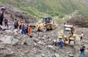 40 casas de la localidad de Xinmo fueron cubiertas por el alud de tierra que se desmoronó. Foto: Twitter @PDChina