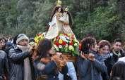 Las autoridades prevén que acudan a El Quinche un millón de devotos. Foto: Archivo