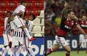 Libertad de Paraguay y Flamengo de Brasil tienen ventaja para ser los finalistas de la Sudamericana.