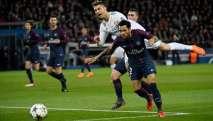 El brasileño y el portugués tuvieron varios roces durante el PSG-Real Madrid. Foto: AFP
