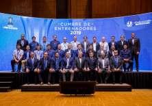 El organismo sudamericano organizó un encuentro de entrenadores para compartir ideas. Foto: Tomada de @CONMEBOL