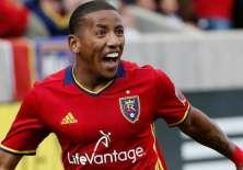 El ecuatoriano Joao Plata marcó un doblete en la goleada del Real Salt Lake en la MLS.