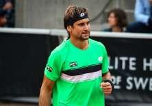 El tenista español David Ferrer va por su tercer título en Bastad, antes ganó en 2007 y 2012.