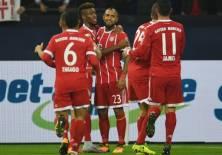 El elenco bávaro tomó el liderato de la Bundesliga de forma provisional. Foto: AFP