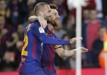 El delantero argentino lleva 9 goles en la liga española tras 5 fechas. Foto: AFP