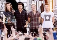 One Direction después de que Zayn Malik abandonara el grupo en 2015.