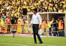 El DT Marcelo Fleitas respondió a las declaraciones del presidente de Fuerza Amarilla.