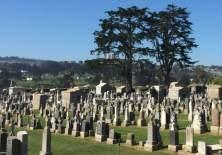 Colma tiene 17 cementerios (16 para seres humanos y uno para animales). (Foto: Beatriz Díez)