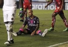 Ariel Nahuelpán no pudo regresar al gol en este compromiso. Foto: API