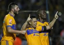 Enner Valencia fue titular con tigres, que se impuso a los 'tiburones rojos' de Veracruz.