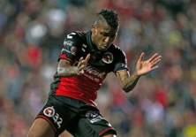 El ecuatoriano Miller Bolaños volvió a anotar con la camiseta de los Xolos de Tijuana.