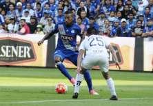 Ayrton Preciado hizo el segundo gol de los 'eléctricos' en el estadio Capwell. Foto: API