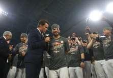 El venezolano José Altuve fue la figura de los Astros en la serie ante los Yankees. Foto: AFP