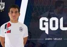 El ecuatoriano puso el segundo gol en la victoria 3-2 sobre el Sport Huancayo.