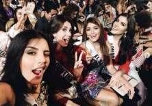 Miss Ecuador, Daniela Cepeda, comparte fotos junto al resto de concursantes latinas en Miss Universo. Foto: Instagram Daniela Cepeda.