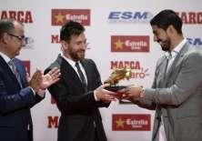 El argentino gana este premio por cuarta vez en su carrera. Foto: AFP
