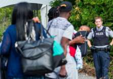 Temiendo ser deportados de Estados Unidos, miles de haitianos cruzaron la frontera hacia Canadá en 2017.