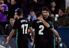 El elenco 'merengue' rompió una racha de tres partidos seguidos sin victorias. Foto: AFP