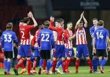 El equipo español superó 5-1 en el marcador global al elenco danés. Foto: AFP