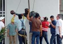 La estatua del 'Ñato' García lucirá en el estadio Capwell como un homenaje de la dirigencia.