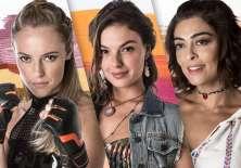 Paolla Oliveira, Isis Valverde y Juliana Paes son las protagonistas de Querer sin Límites. Foto: archivo