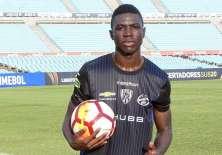 El jugador ecuatoriano Stiven Plaza es el actual goleador en la Libertadores Sub 20.