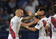 Los 'azules' cayeron 1-0 en el estadio George Capwell. Foto: AFP