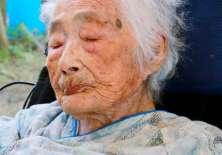Tajima fue filmada para un documental sobre personas ancianas.