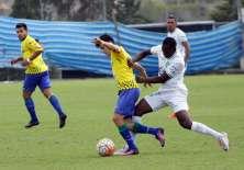 El equipo azuayo perdió el partido 1-0 en Machala. Foto: API