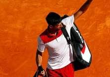 El tenista se vio sorprendido por un jugador proveniente de la fase de clasificación.