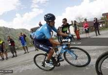 Carapaz recorrió la capital de Italia en esta última fase del Giro. Foto: AFP.