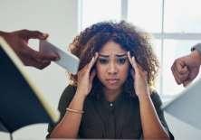 El estrés laboral es un asunto de salud pública.