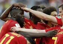 Romelu Lukaku hizo dos tantos para el combinado europeo. Foto: Adrian DENNIS / AFP