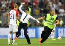 4 personas interrumpieron la final del Mundial entre Francia y Croacia. Foto: AP Foto/Martin Meissner