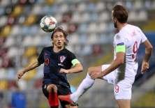 RIJEKA, Croacia.- Modric durante el partido entre Croacia e Inglaterra por la Liga de Naciones. Foto: AFP
