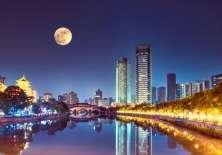 """La """"luna artificial"""" que quieren poner en órbita para China. Foto: Getty Images"""