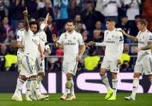 Los 'merengues' superaron 2-1 al conjunto checo en el estadio Santiago Bernabéu. Foto: GABRIEL BOUYS / AFP
