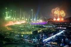 Apertura de los Juegos de Invierno 2018 / AFP