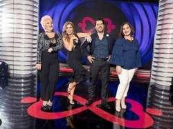 Mayensi, Mariela Viteri, Andrés Pelaccini y Mónica Carriel son los jueces de Prueba de Amor. Foto: Instagram. Prueba de Amor.