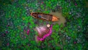 SEGUNDO PREMIO, GENTE: Delta del Mekong Delta, Vietnam  / FOTOGRAFÍA DE HELIOS1412 / Fotos: National Geographic