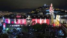 Más de 180 mil personas se habían dado cita en el festival de arte luz más importante del país.