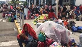 TUMBES, Perú.- El requisito de visa rige desde las cero horas de este 15 de junio. Foto: César Velastegui.