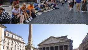 Panteón en Roma, 2019/2020. Foto: AP