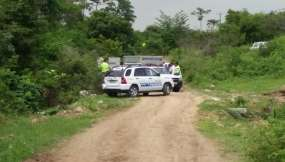 Hallan dos cuerpos con heridas de bala en la comuna 'Casas Viejas'.