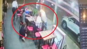 Violento asalto en un restaurante de Portoviejo