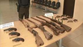 Decomisan 29 armas de fuego en varios de Guayas
