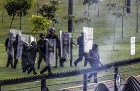 CARACAS, Venezuela.- En 3 meses de movilizaciones en Venezuela, el número de fallecidos llega a 75. Foto: AFP.