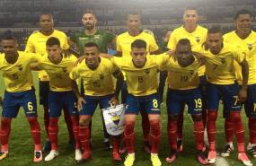 La selección ecuatoriana superó por 3-1 a los centroamericanos. Foto: Tomada de la cuenta Twitter @FEFecuador